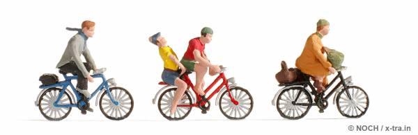 Fahrradfahrer NOCH 15898