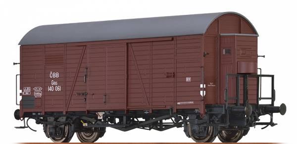 BRAWA 47952 - Gedeckter Güterwagen Bauart Gms der ÖBB