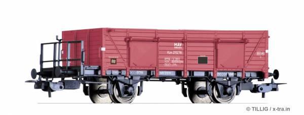 TILLIG 76729. Offener Güterwagen Kzn der MAV