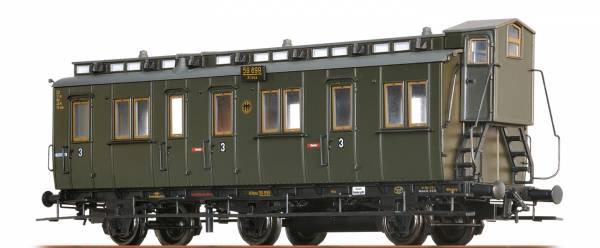 BRAWA 45487 - Abteilwagen 3.Klasse, Bauart C3tr der DRG