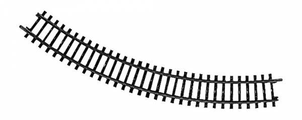 Gebogenes K-Gleis 295,1 mm 45°. Märklin 2210
