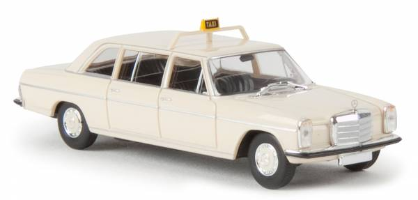 """BREKINA 13404 - Mercedes Benz MB 220 D lang """"Taxi"""" - hellelfenbein"""