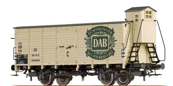"""BRAWA 67476 - Bierwagen Bauart G10 """"DAB"""" der DB"""