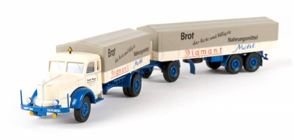 "BREKINA 86015 - Krupp Titan PP-Zug ""Diamant Mehl"""