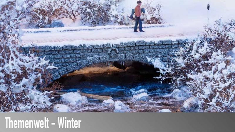 Modellbahn Winter und Winterszenen