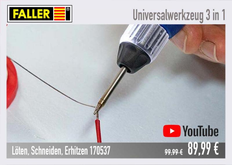 Faller 170537 Universal Werkzeug 3in1