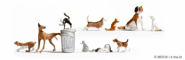 Hunde und Katzen. NOCH 45715