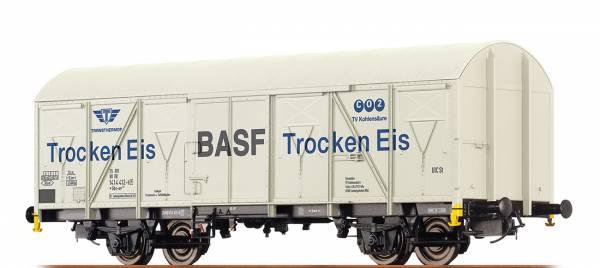 "BRAWA 47274 - Gedeckter Güterwagen, Bauart Gbs-uv 253 ""BASF Trocken Eis"" der DB"