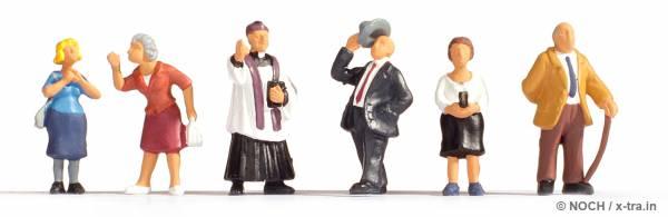 Kirchgänger. NOCH 15577