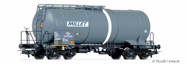 TILLIG 76651. Kesselwagen, Zas, MILLET, Tankwagen