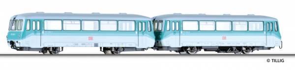 Triebwagen Baureihe 772 mit Steuerwagen Baureihe 972 der DB. TILLIG 73144