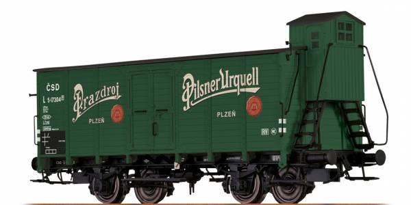 """BRAWA 67462 - Bierwagen Bauart L """"Pilsener Urquell"""" der CSD"""