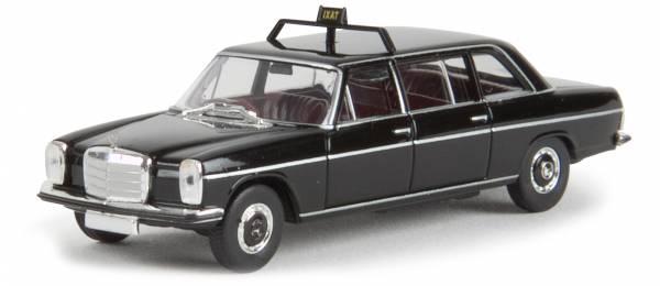 "BREKINA 13406 - Mercedes Benz MB 220 D lang ""Taxi"" - schwarz"