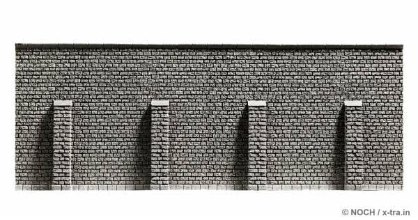 Stützmauer. NOCH 34856