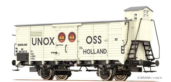 BRAWA 49063 - Gedeckter Güterwagen Bauart G10 der NS