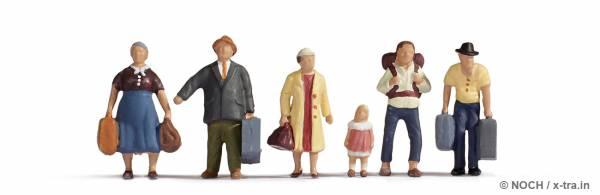 Reisende 6 Figuren. NOCH 15218
