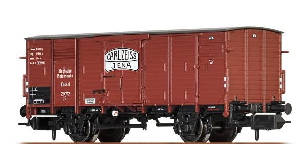"BRAWA 67449 - Gedeckter Güterwagen Bauart G Kassel ""Zeiss"", der DRG"