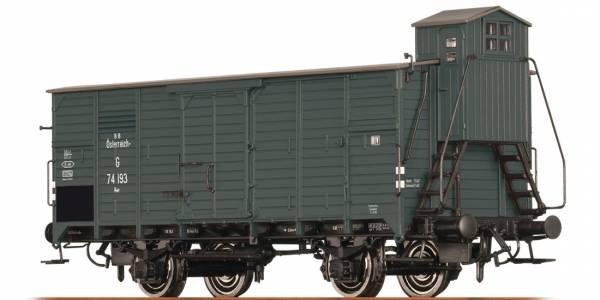 BRAWA 67452 - Gedeckter Güterwagen Bauart G der BBÖ