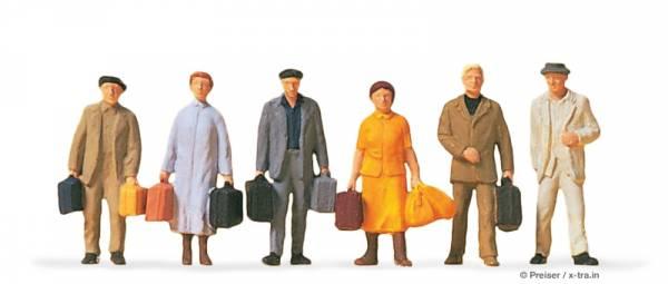 Preiser 14019 - Reisende
