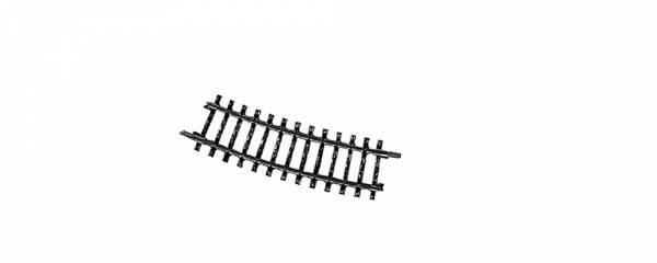 Gebogenes K-Gleis 360 mm 15°. Märklin 2223