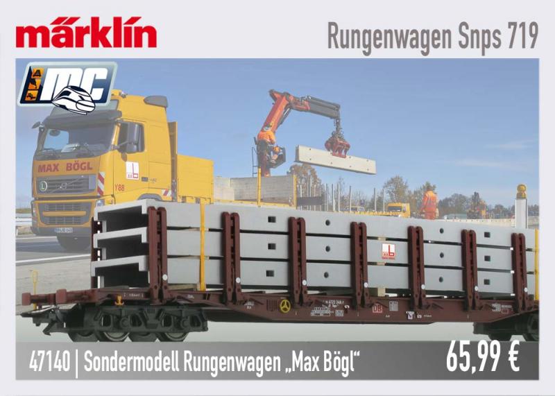 Märklin MC Sondermodell 47140 Max Bögl