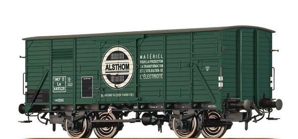 """BRAWA 49745 - Gedeckter Güterwagen Bauart Lw """"ALSTHOM"""" der SNCF"""