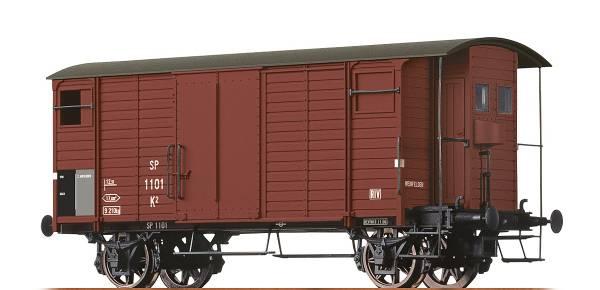 BRAWA 67856 - Gedeckter Güterwagen Bauart K2 der MThB