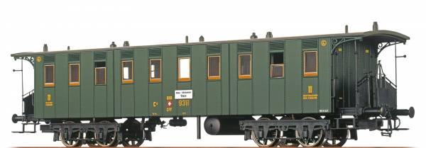 BRAWA 45061 - Personenwagen Bauart BC4 der SBB