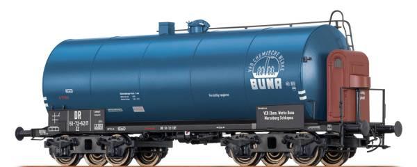 "BRAWA 67719 - Leichtbaukesselwagen Bauart Uerdingen ZZ [P] ""Buna"" der DR"