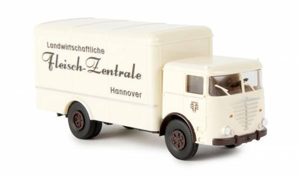 """BREKINA 79117 - Büssing Commodore Koffer """"Landwirtschaftliche Fleisch Zentrale"""""""