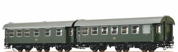 BRAWA 46307 - Personenwagen-Doppeleinheit Bauart AB3yge und B3yge der DB
