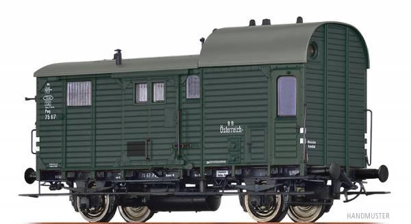 BRAWA 49408 - Güterzuggepäckwagen Bauart Pwg pr14 der BBÖ