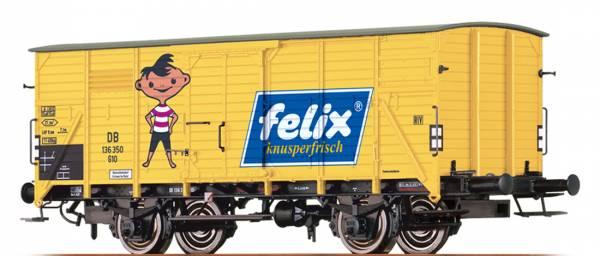"BRAWA 49711 - Gedeckter Güterwagen Bauart G10 ""Felix"" der DB"